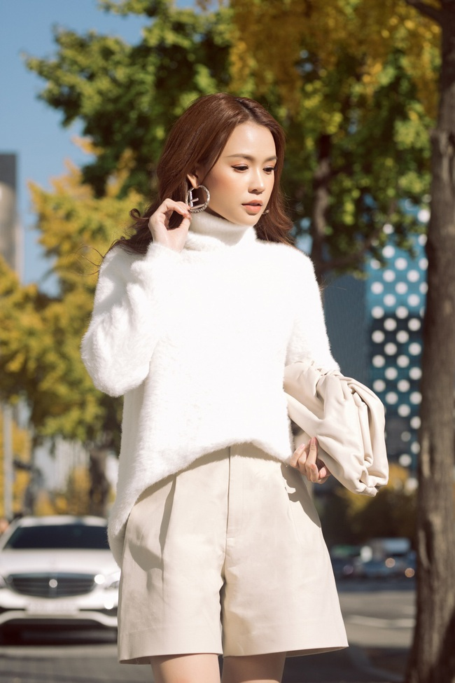 Hóa nàng thơ ngọt ngào trên đường phố Hàn Quốc, Sam nói về tình bạn với Ngô Kiến Huy - Ảnh 9.