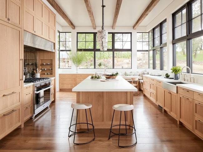 Ngây ngất với nét mộc mạc hiếm hoi bên trong căn phòng bếp gia đình hiện đại - Ảnh 5.