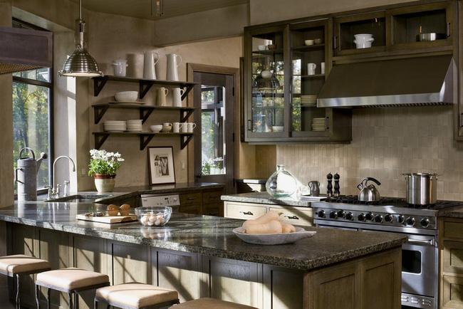 Ngây ngất với nét mộc mạc hiếm hoi bên trong căn phòng bếp gia đình hiện đại - Ảnh 7.