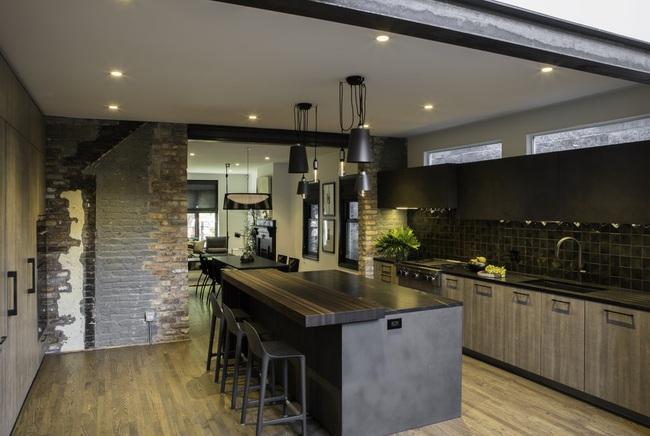Ngây ngất với nét mộc mạc hiếm hoi bên trong căn phòng bếp gia đình hiện đại - Ảnh 12.