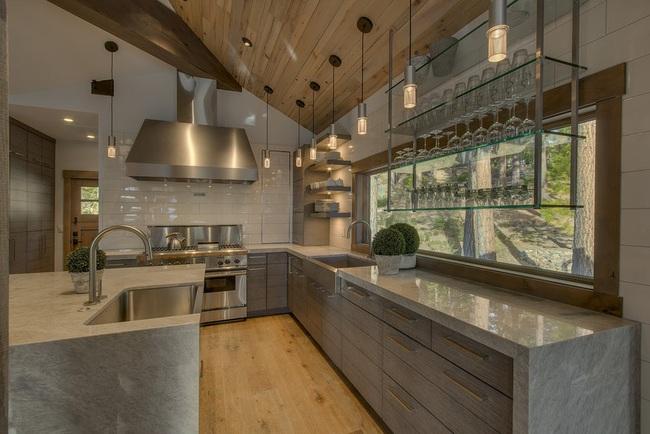 Ngây ngất với nét mộc mạc hiếm hoi bên trong căn phòng bếp gia đình hiện đại - Ảnh 13.