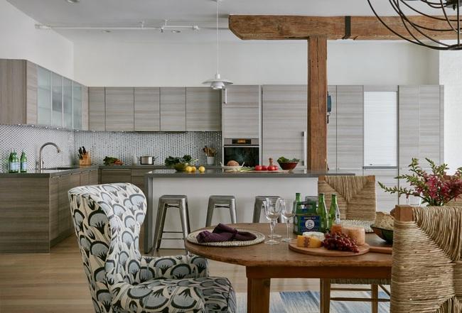 Ngây ngất với nét mộc mạc hiếm hoi bên trong căn phòng bếp gia đình hiện đại - Ảnh 15.