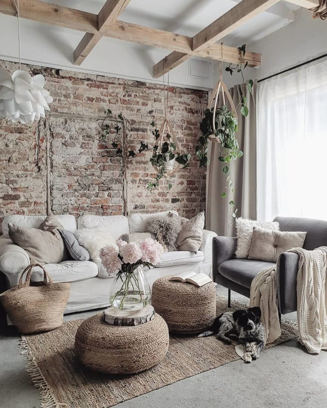 10 cách để làm sáng phòng khách màu be siêu dễ dàng - Ảnh 3.