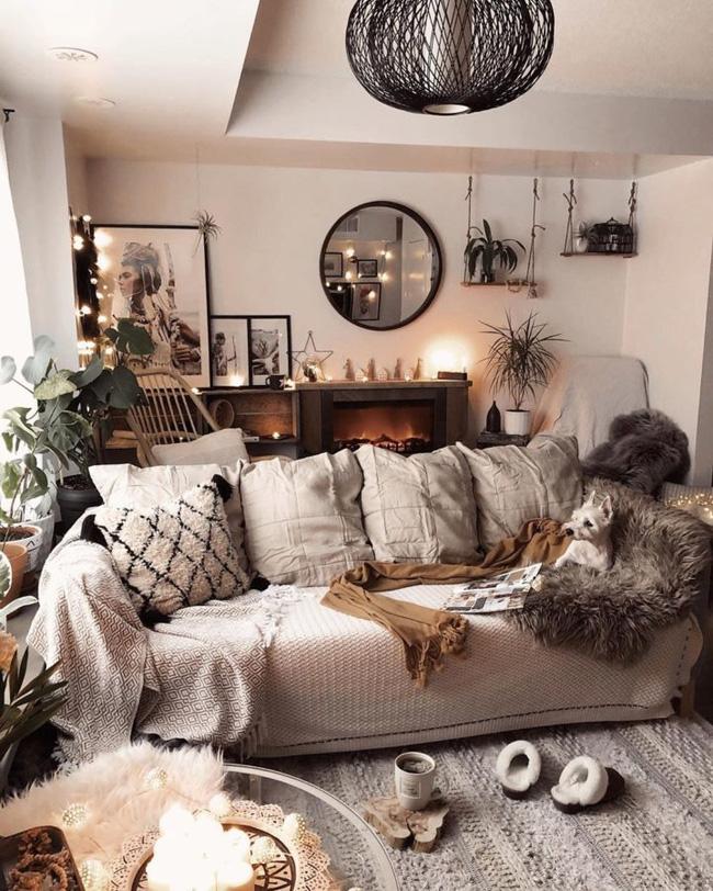 10 cách để làm sáng phòng khách màu be siêu dễ dàng - Ảnh 7.