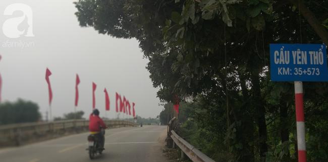 Cô giáo vừa rời khỏi nhà không xa thì gặp nạn trên cầu Yên Thổ