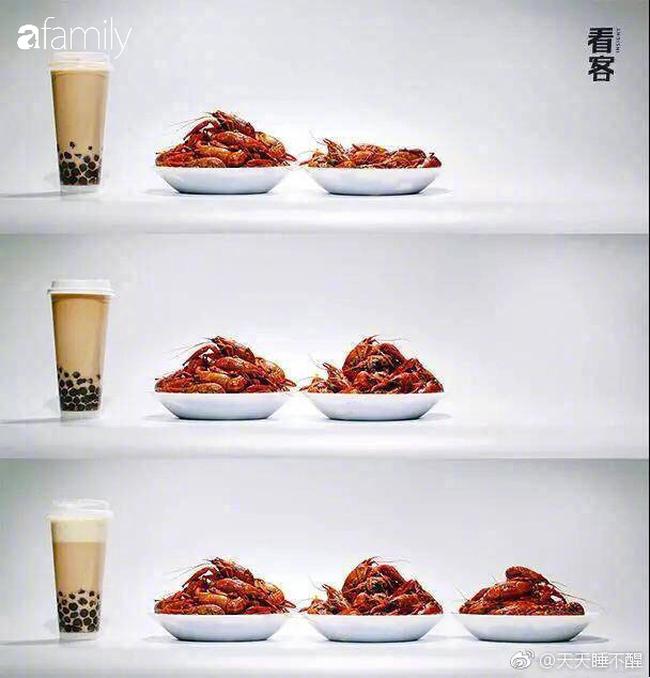 """Một cốc trà sữa bằng 5 bát cơm đầy: Ảnh quy đổi giúp bạn thấy rõ tác động """"hại dáng"""" của trà sữa - Ảnh 8."""