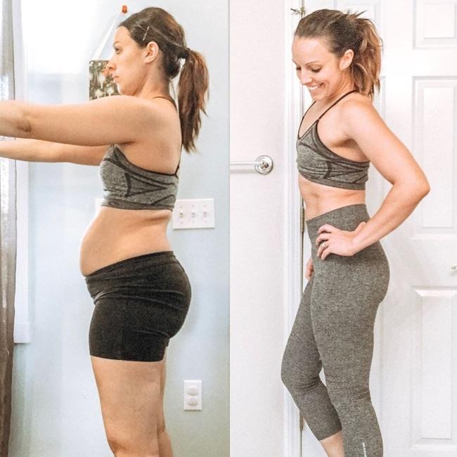 Bà mẹ lấy lại dáng thon thần kỳ sau sinh và ngộ ra bài học xương máu: Chỉ tập thể dục 20 phút/ngày là đủ - Ảnh 4.