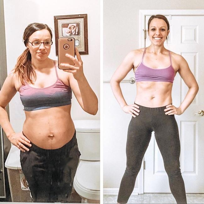 Bà mẹ lấy lại dáng thon thần kỳ sau sinh và ngộ ra bài học xương máu: Chỉ tập thể dục 20 phút/ngày là đủ - Ảnh 2.