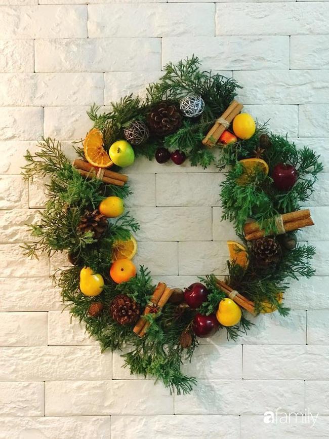 Những góc nhỏ ấm cúng bình dị đón Noel nhờ tận dụng đồ sẵn có trong bếp của người mẹ đảm ở Hà Nội - Ảnh 3.