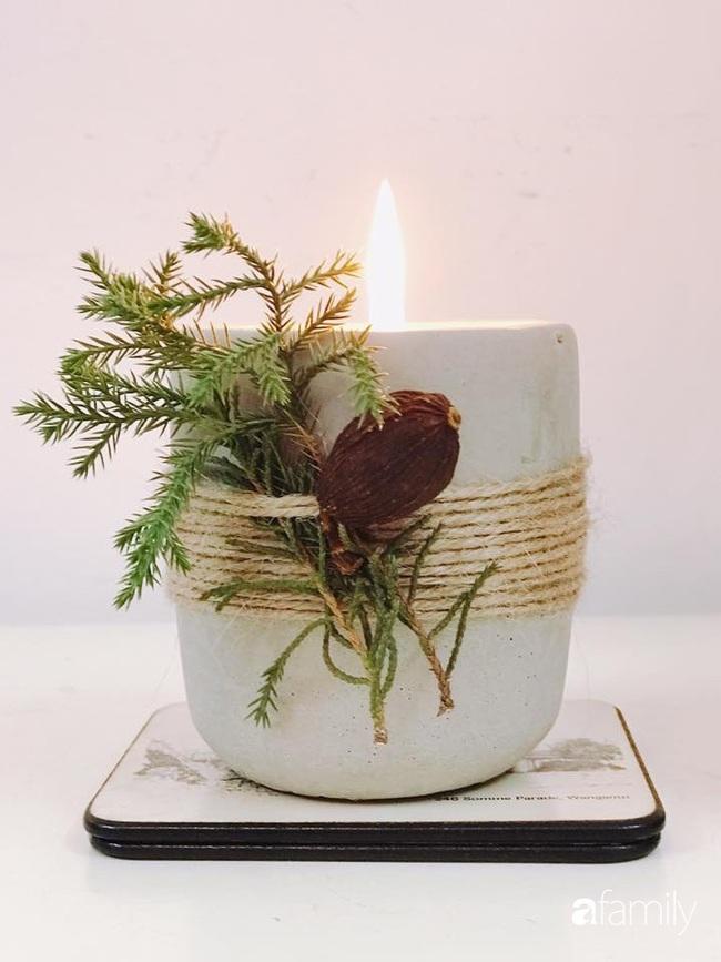 Những góc nhỏ ấm cúng bình dị đón Noel nhờ tận dụng đồ sẵn có trong bếp của người mẹ đảm ở Hà Nội - Ảnh 6.