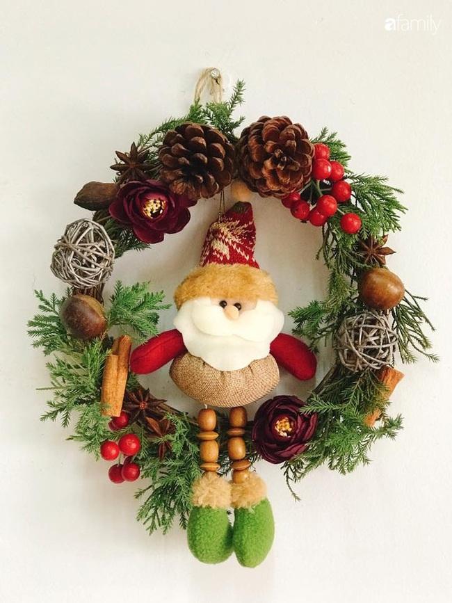 Những góc nhỏ ấm cúng bình dị đón Noel nhờ tận dụng đồ sẵn có trong bếp của người mẹ đảm ở Hà Nội - Ảnh 4.