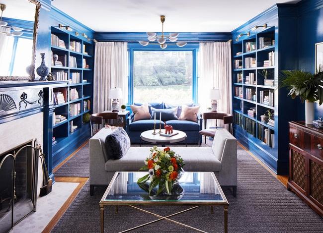 Bạn đã sẵn sàng trang hoàng ngôi nhà nhỏ của mình với gam màu xanh cổ điển của năm 2020 - Ảnh 5.