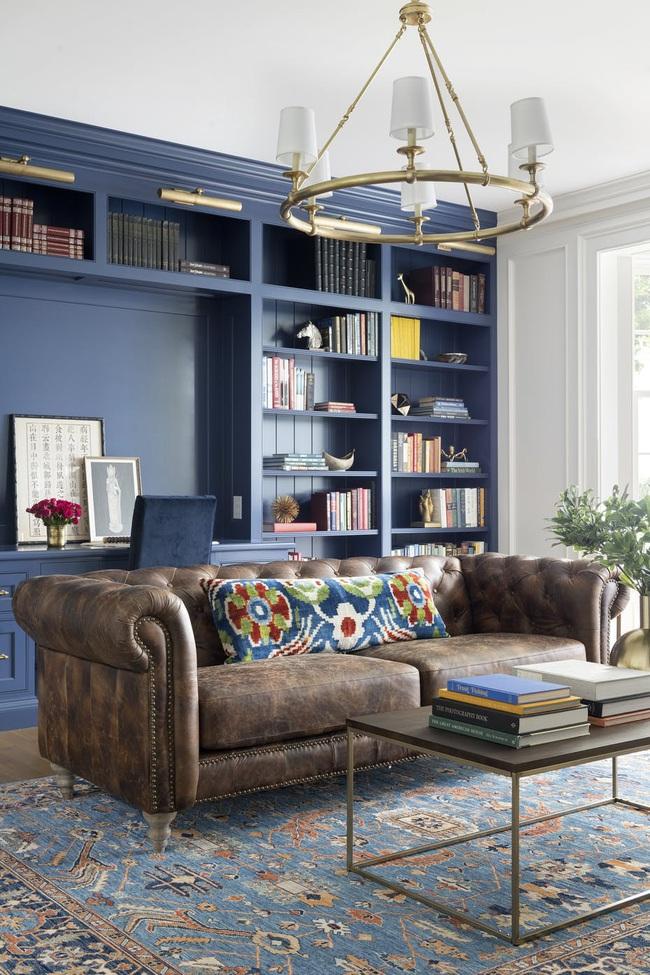 Bạn đã sẵn sàng trang hoàng ngôi nhà nhỏ của mình với gam màu xanh cổ điển của năm 2020 - Ảnh 7.
