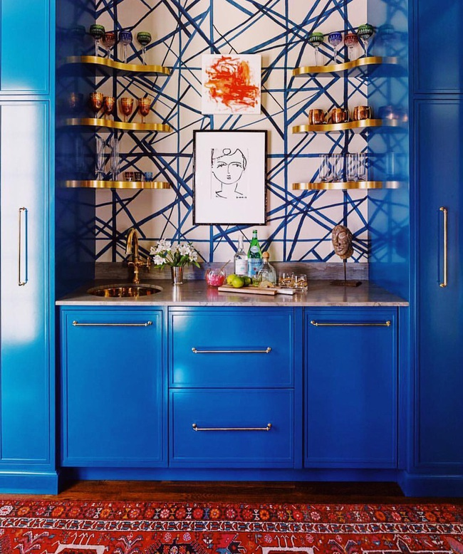 Bạn đã sẵn sàng trang hoàng ngôi nhà nhỏ của mình với gam màu xanh cổ điển của năm 2020 - Ảnh 9.