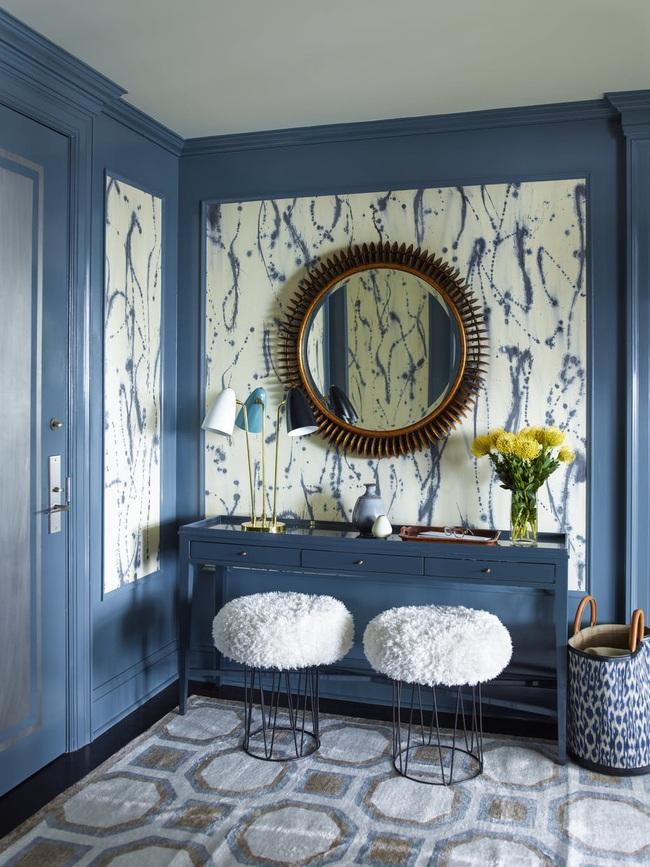 Bạn đã sẵn sàng trang hoàng ngôi nhà nhỏ của mình với gam màu xanh cổ điển của năm 2020 - Ảnh 12.