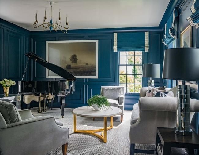 Bạn đã sẵn sàng trang hoàng ngôi nhà nhỏ của mình với gam màu xanh cổ điển của năm 2020 - Ảnh 13.
