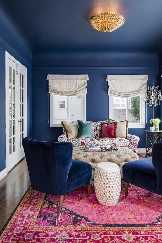 Bạn đã sẵn sàng trang hoàng ngôi nhà nhỏ của mình với gam màu xanh cổ điển của năm 2020 - Ảnh 15.
