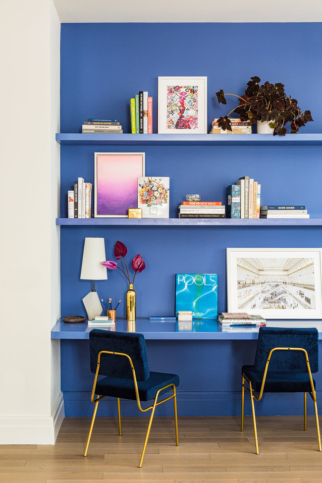 Bạn đã sẵn sàng trang hoàng ngôi nhà nhỏ của mình với gam màu xanh cổ điển của năm 2020 - Ảnh 16.
