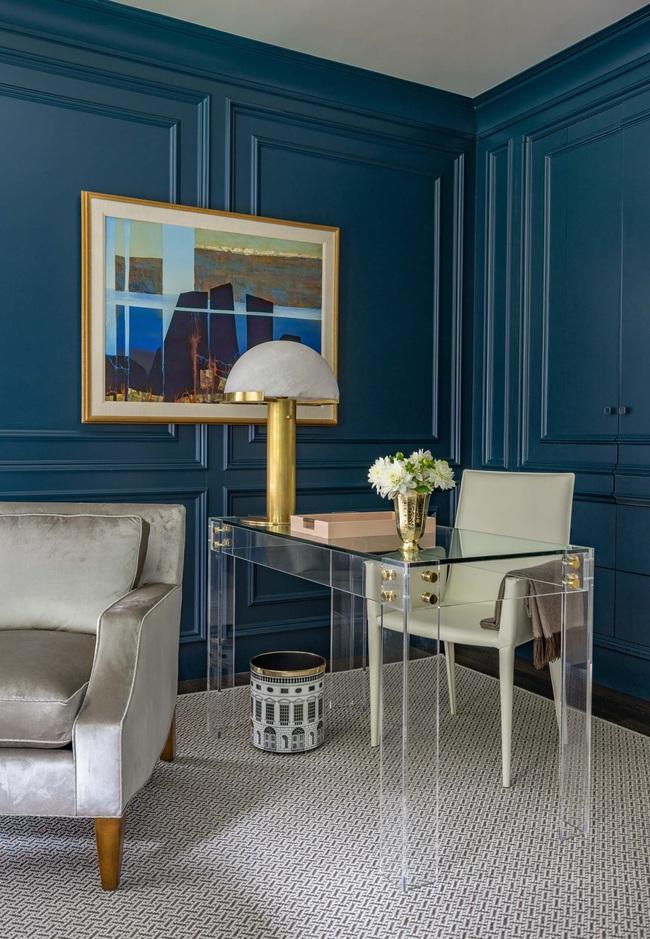Bạn đã sẵn sàng trang hoàng ngôi nhà nhỏ của mình với gam màu xanh cổ điển của năm 2020 - Ảnh 18.