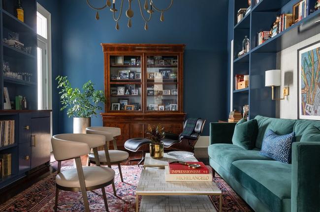 Bạn đã sẵn sàng trang hoàng ngôi nhà nhỏ của mình với gam màu xanh cổ điển của năm 2020 - Ảnh 21.
