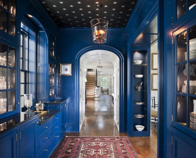 Bạn đã sẵn sàng trang hoàng ngôi nhà nhỏ của mình với gam màu xanh cổ điển của năm 2020 - Ảnh 22.