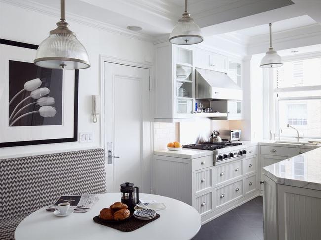 Căn bếp đen - trắng vừa đẹp vừa sang lại luôn gọn gàng ngăn nắp - Ảnh 3.