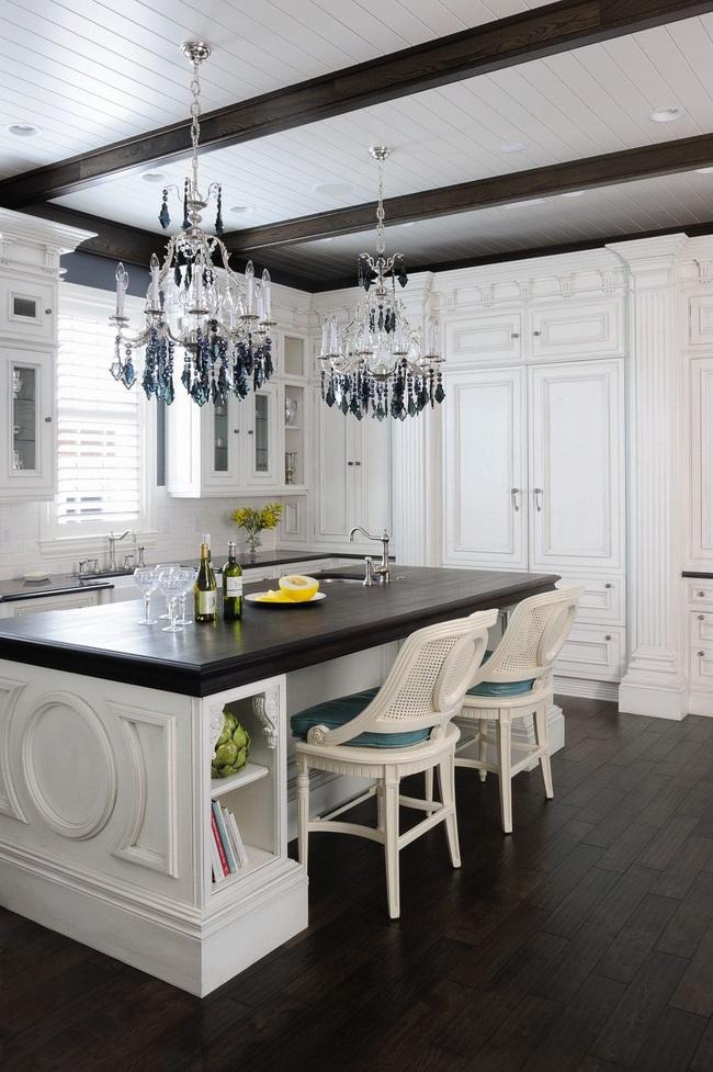 Căn bếp đen - trắng vừa đẹp vừa sang lại luôn gọn gàng ngăn nắp - Ảnh 9.