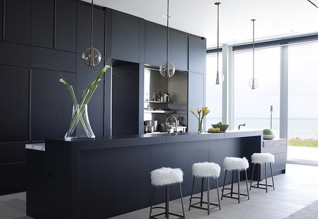 Căn bếp đen - trắng vừa đẹp vừa sang lại luôn gọn gàng ngăn nắp - Ảnh 11.