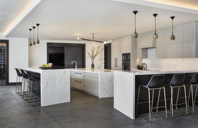 Căn bếp đen - trắng vừa đẹp vừa sang lại luôn gọn gàng ngăn nắp - Ảnh 19.