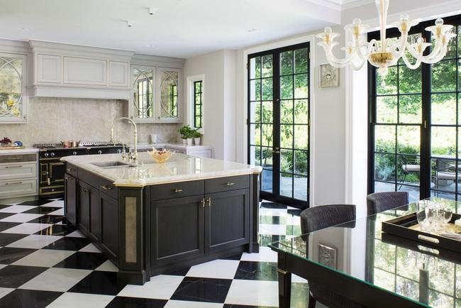 Căn bếp đen - trắng vừa đẹp vừa sang lại luôn gọn gàng ngăn nắp - Ảnh 20.