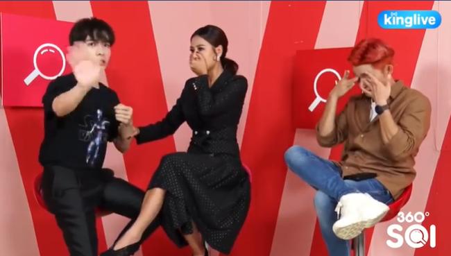 """HOT: Nam Thư """"lỡ lời"""" tiết lộ Trúc Nhân đang yêu Jun Phạm trên sóng livestream - Ảnh 3."""