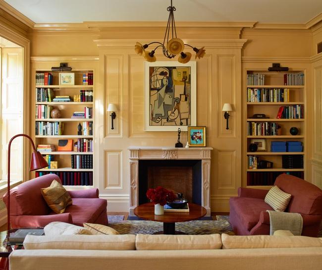 Mẹo trang trí nhỏ giúp căn phòng khách của gia đình thêm phần ấm cúng - Ảnh 1.