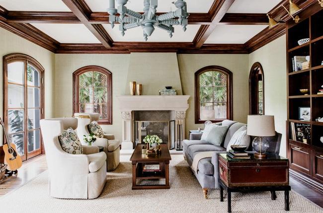 Mẹo trang trí nhỏ giúp căn phòng khách của gia đình thêm phần ấm cúng - Ảnh 2.
