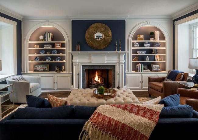 Mẹo trang trí nhỏ giúp căn phòng khách của gia đình thêm phần ấm cúng - Ảnh 3.