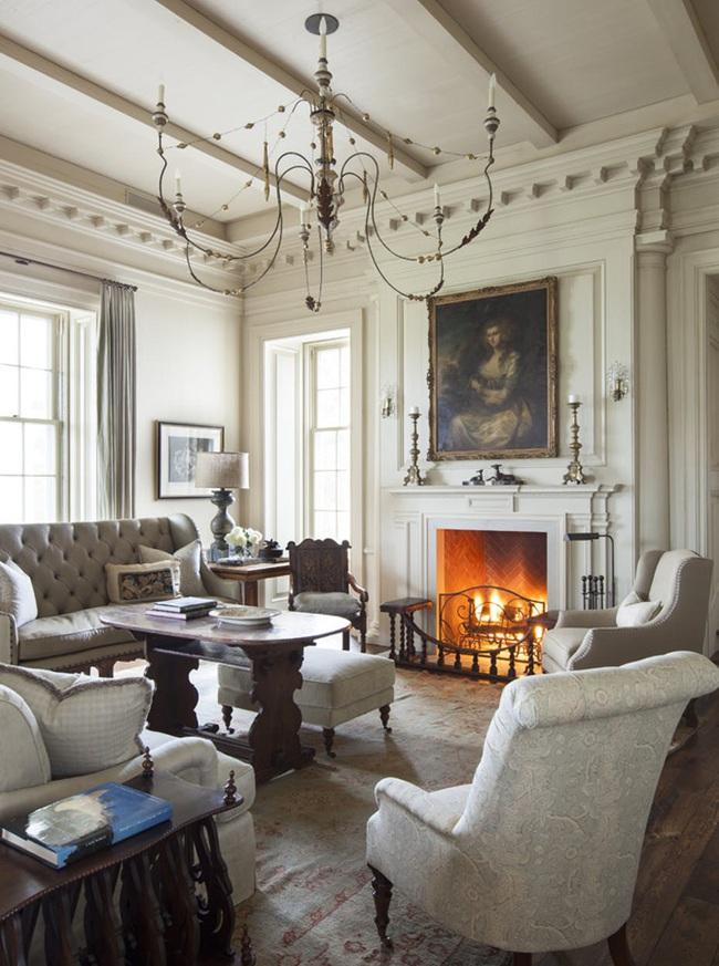 Mẹo trang trí nhỏ giúp căn phòng khách của gia đình thêm phần ấm cúng - Ảnh 9.