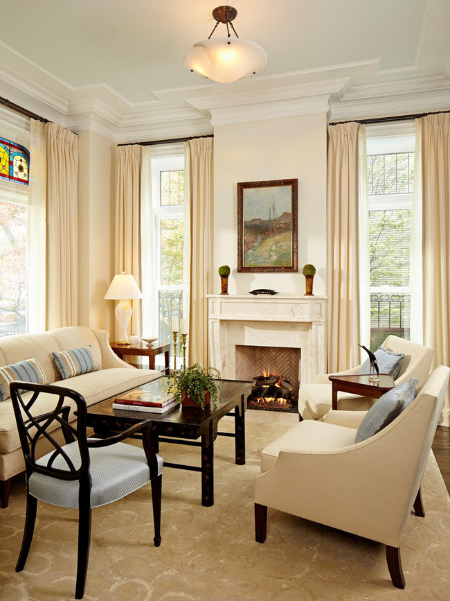 Mẹo trang trí nhỏ giúp căn phòng khách của gia đình thêm phần ấm cúng - Ảnh 11.