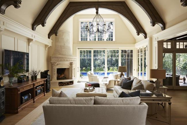 Mẹo trang trí nhỏ giúp căn phòng khách của gia đình thêm phần ấm cúng - Ảnh 16.