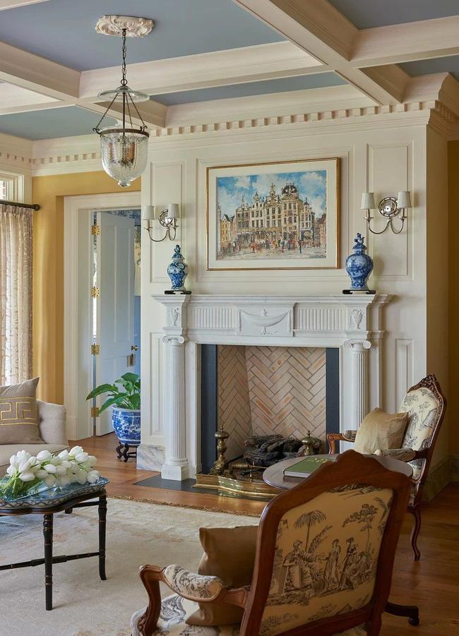 Mẹo trang trí nhỏ giúp căn phòng khách của gia đình thêm phần ấm cúng - Ảnh 19.