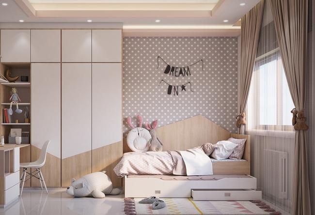 Tư vấn thiết kế căn hộ 75m2 với tổng chi phí 158 triệu đồng - Ảnh 7.