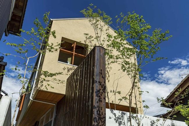 Ngôi nhà phố tạo dấu ấn đặc biệt với những tiểu cảnh thiết kế tinh tế ở Nhật Bản - Ảnh 1.