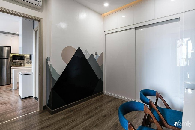 Căn hộ 62m2 nới rộng không gian nhờ giải pháp thiết kế thông minh ở Sài Gòn - Ảnh 8.