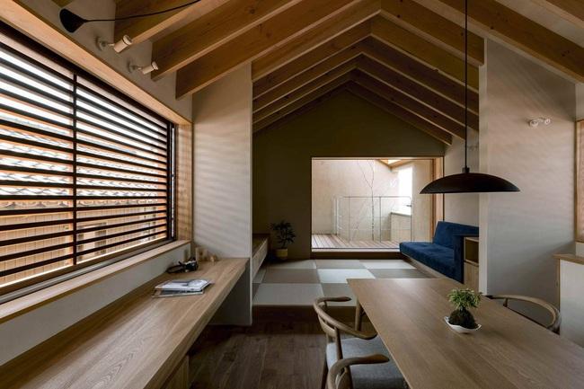 Ngôi nhà phố tạo dấu ấn đặc biệt với những tiểu cảnh thiết kế tinh tế ở Nhật Bản - Ảnh 3.