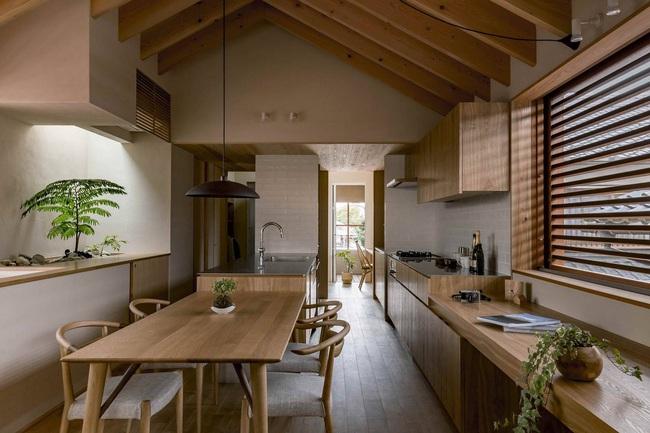 Ngôi nhà phố tạo dấu ấn đặc biệt với những tiểu cảnh thiết kế tinh tế ở Nhật Bản - Ảnh 4.