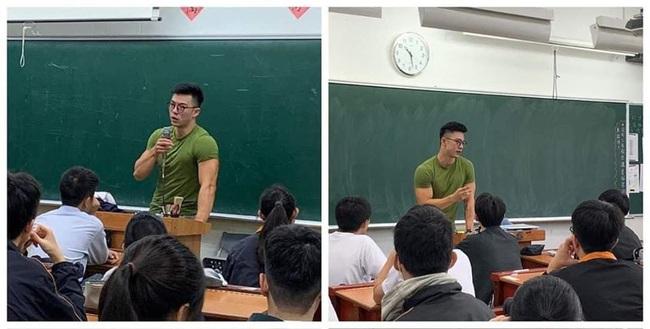 Họ sinh ôm tim hò hét vì thầy giáo đẹp trai như diễn viên điện ảnh, thân hình hoàn mỹ không khác gì tượng điêu khắc - Ảnh 2.