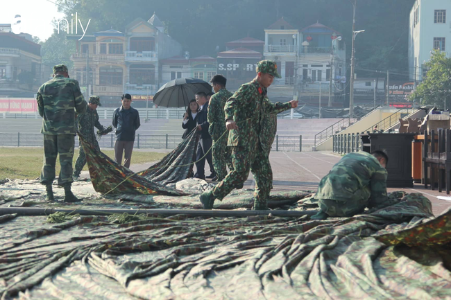 Vụ nữ sinh giao gà bị sát hại: Hoàn tất công tác chuẩn bị cho phiên xét xử lưu động tại SVĐ tỉnh Điện Biên - Ảnh 5.