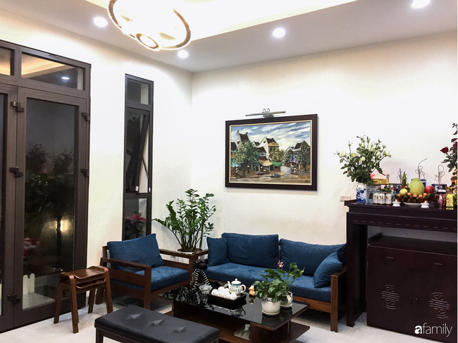 Ngắm ngôi nhà đẹp như mơ với chi phí 1,6 tỉ do con trai là KTS xây tặng bố mẹ ở Long Biên, Hà Nội - Ảnh 6.