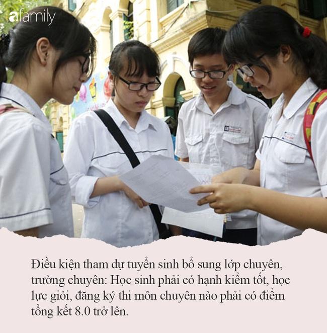 Hà Nội tuyển sinh bổ sung vào 4 Trường THPT chuyên: Học sinh cần nắm rõ lịch thi và đáp ứng đủ những điều kiện sau - Ảnh 4.