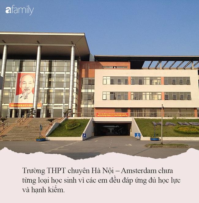 Sở GD&DT ra văn bản sàng lọc học sinh trường chuyên, THPT chuyên Hà Nội - Amsterdam cho biết trường chưa từng có học sinh yếu kém - Ảnh 5.