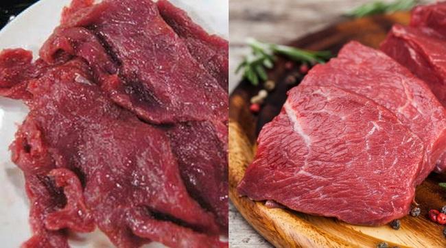 Cận Tết, cẩn trọng thịt bò giả tràn lan thị trường, làm thế nào để mua miếng thịt bò ngon cho cả nhà thưởng thức? - Ảnh 6.