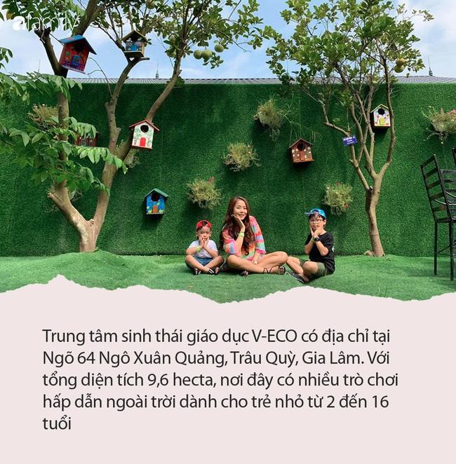 Cách Hà Nội 40 phút lái xe, có 1 trung tâm sinh thái thú vị cho trẻ tha hồ vui chơi và học hỏi - Ảnh 1.